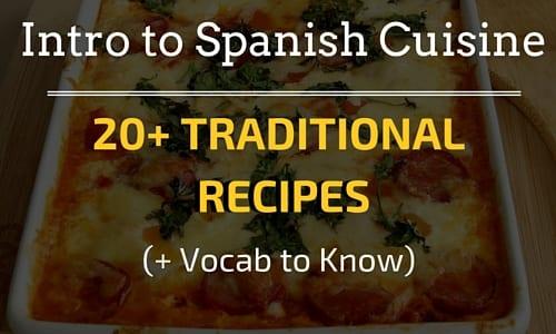 Intro to Spanish Cuisine (2)