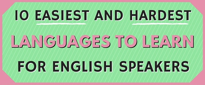MO - 10 Easiest and Hardest Languages to Learn for English Speakers