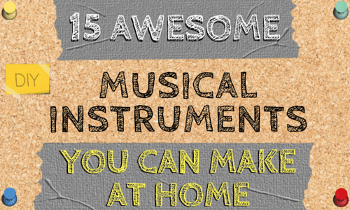15 Unique Homemade Musical Instruments