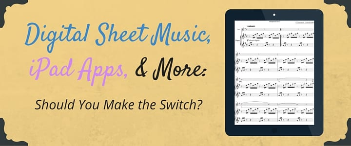 Digital Sheet Music, iPad Apps, and More (1)
