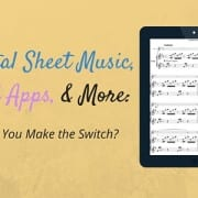 Digital Sheet Music, iPad Apps, and More (2)
