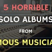 MO - 5 Horrible Solo Albums From Famous Musicians
