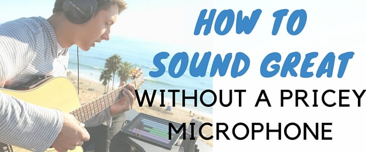 Singers, How to Record Yourself Without a Pricey Microphone
