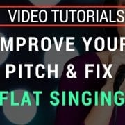 Video- how to not sing flat