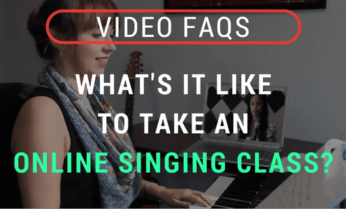 Video: Learn to sing online