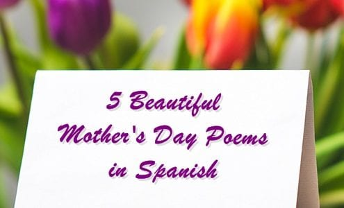 Mother's Day Poems in Spanish