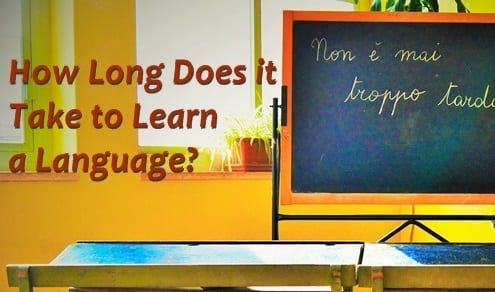 How Long Does it Take to Learn a Language? Find Out Here.