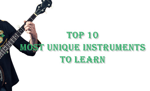 Most unique instruments to learn