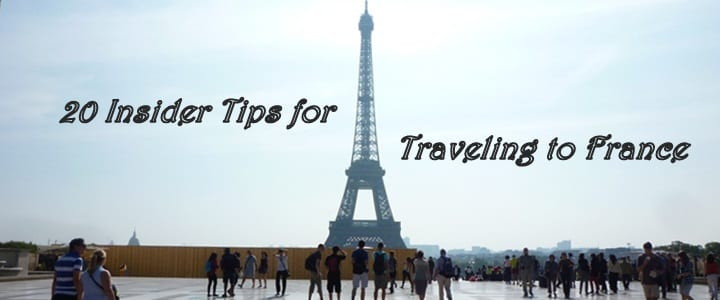 20 insider tips for traveling to france infographic