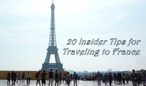 Tips for traveling to France