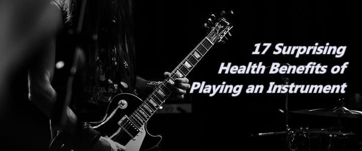 Health benefits of playing an instrument