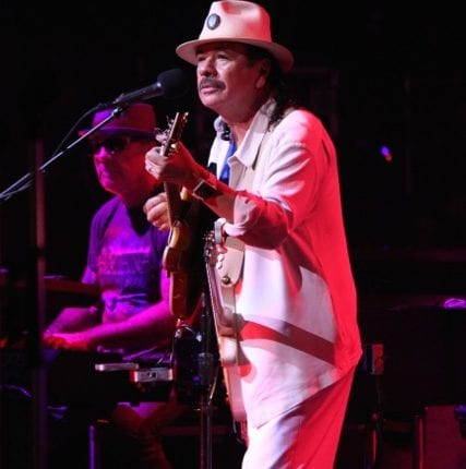 Hispanic musicians - Santana