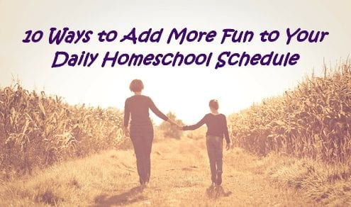 Daily Homeschool Schedule