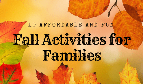 10 Affordable & Fun Fall Activities for Families [Infographic]