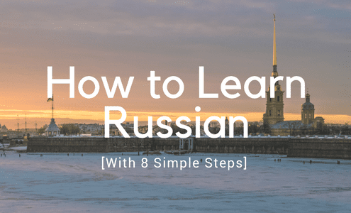 How to Learn Russian