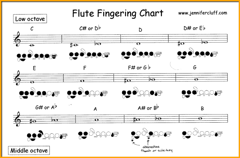 graphic regarding Printable Flute Sheet Music identified as The Immediate Foolproof Course in direction of Find out Flute Notes [Newcomers