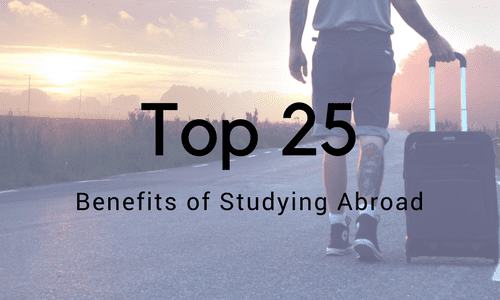 Top 25 Biggest Benefits of Studying Abroad [Infographic]