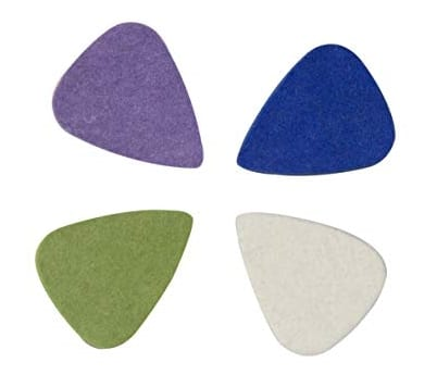 Felt picks - Cool guitar picks