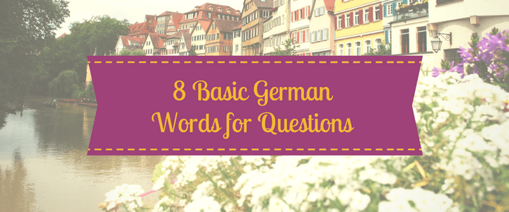 German question words