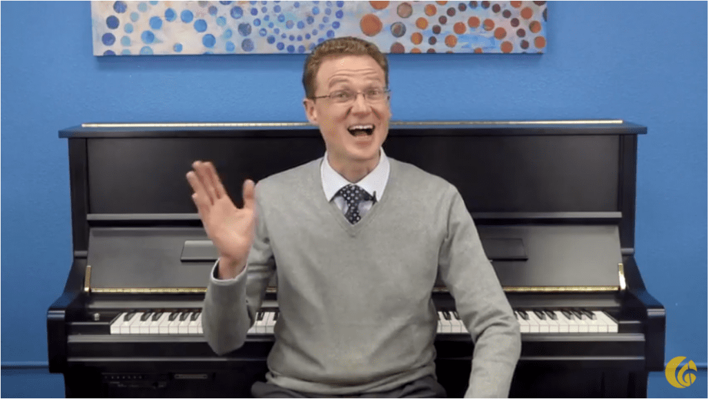 Free piano lessons with Joseph Hoffman