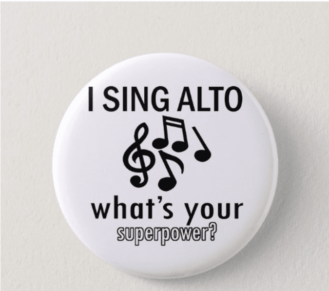 Best Gifts for Singers - singers pin