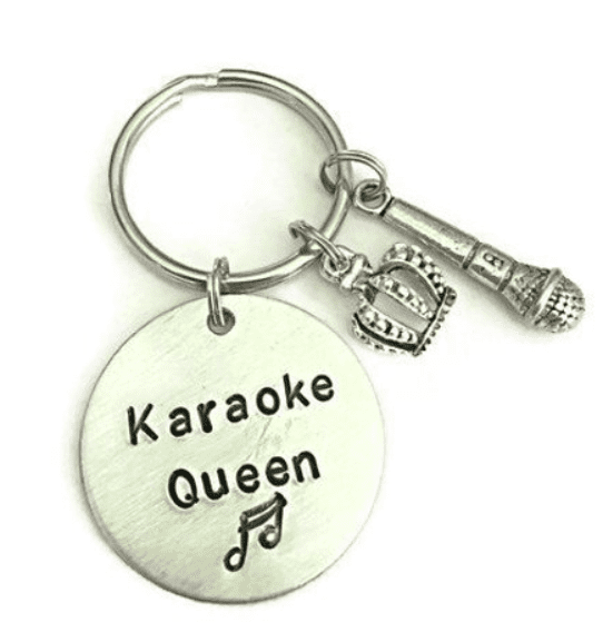 Best Gifts for Singers - karaoke keychain
