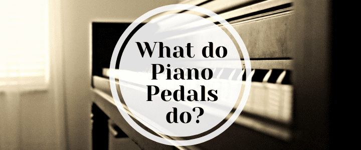 What do the pedals on a piano do
