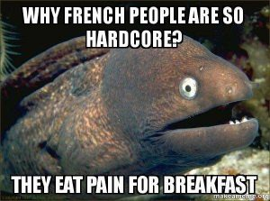 French language meme second example